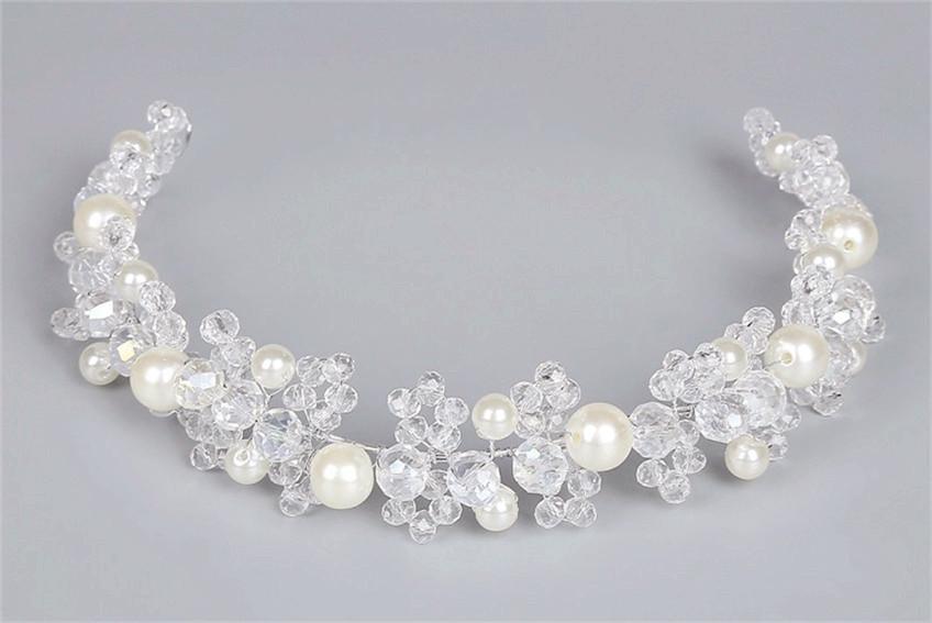 Haardraht Haarranke mit Perle-Minxiang Yang Schmuck Design